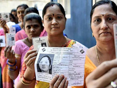 Biometric based voting system