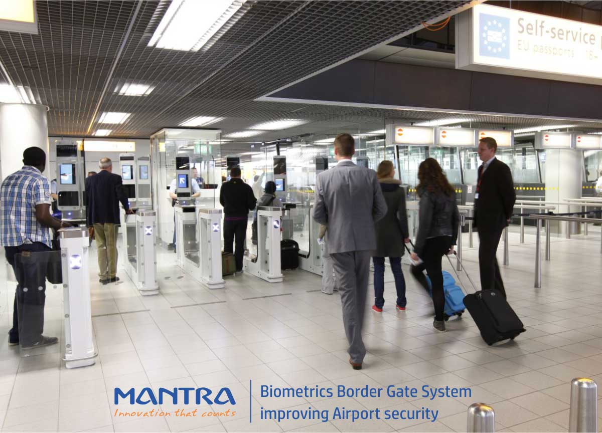Biometrics border gate security systems