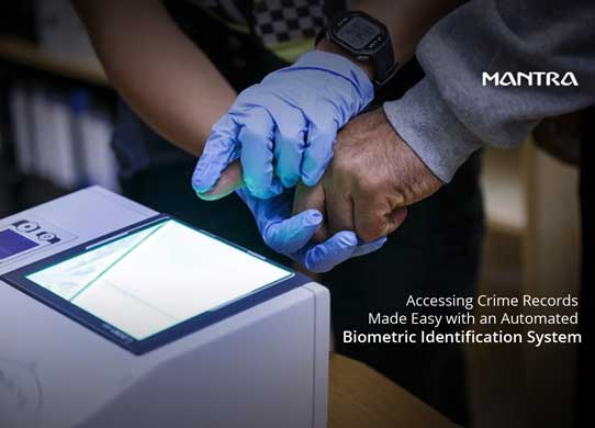 How Biometrics can help in Maintaining the Track Record of Criminals?